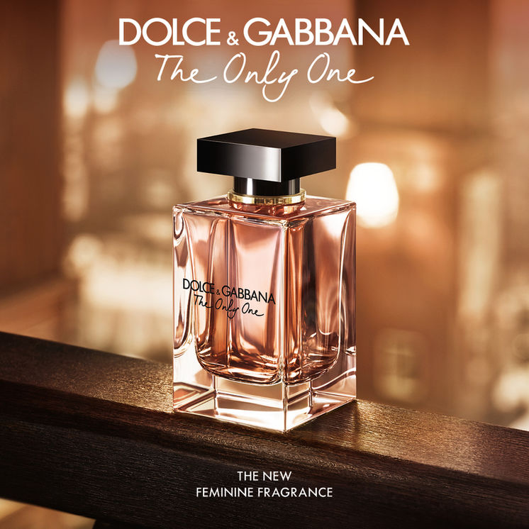 Discover The Only One, the new feminine fragrance by Dolce&Gabbana.